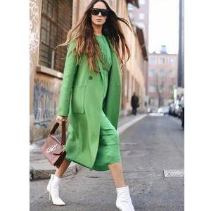 NWT Zara Florescent Menswear Coat